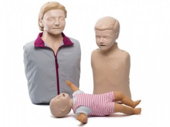 Set 3 manechine CPR little family